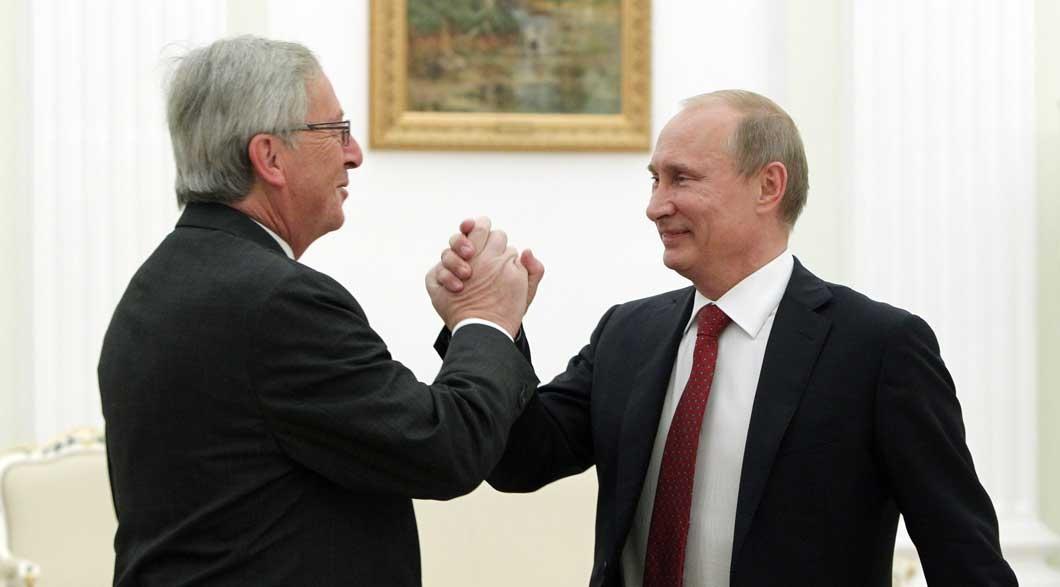 Зустріч Юнкера та Путіна у 2016 році