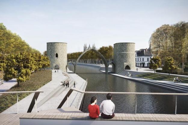 У Бельгії зруйнували античний міст, щоб полегшити прохід кораблів
