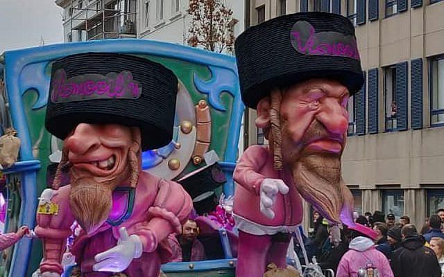 Сцена, вызвавшая критику карнавала
