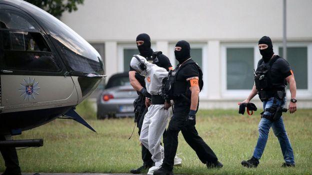 Али Башира поймали в Ираке и вывезли в Германию