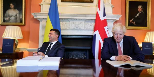 Підписання угоди між Україною та Великою Британією