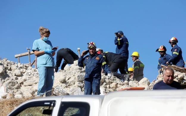 В результате землетрясения на Крите погиб один человек   Европейская правда