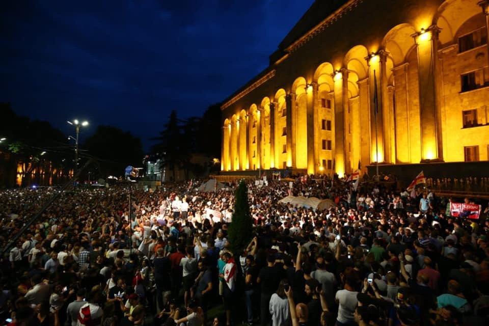 Картинки по запросу грузія протести