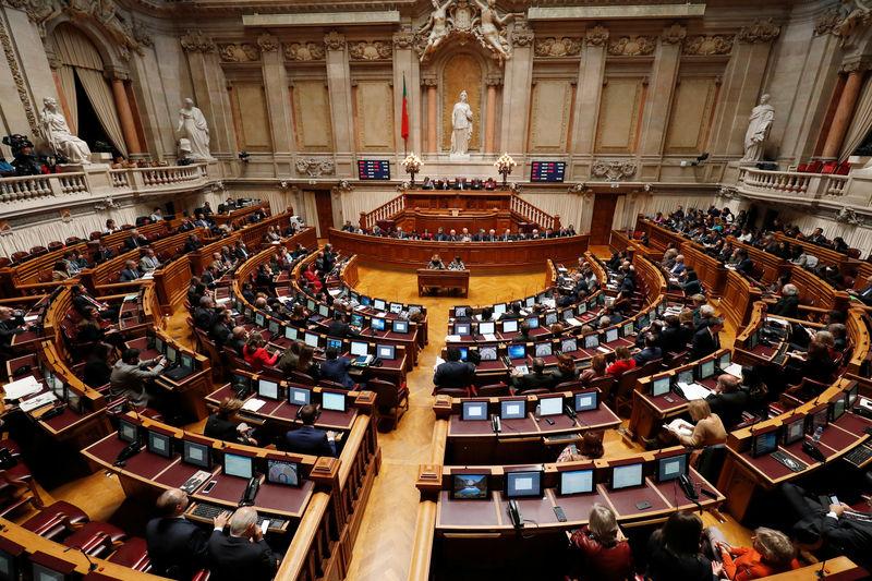 Сесійна зала парламенту Португалії